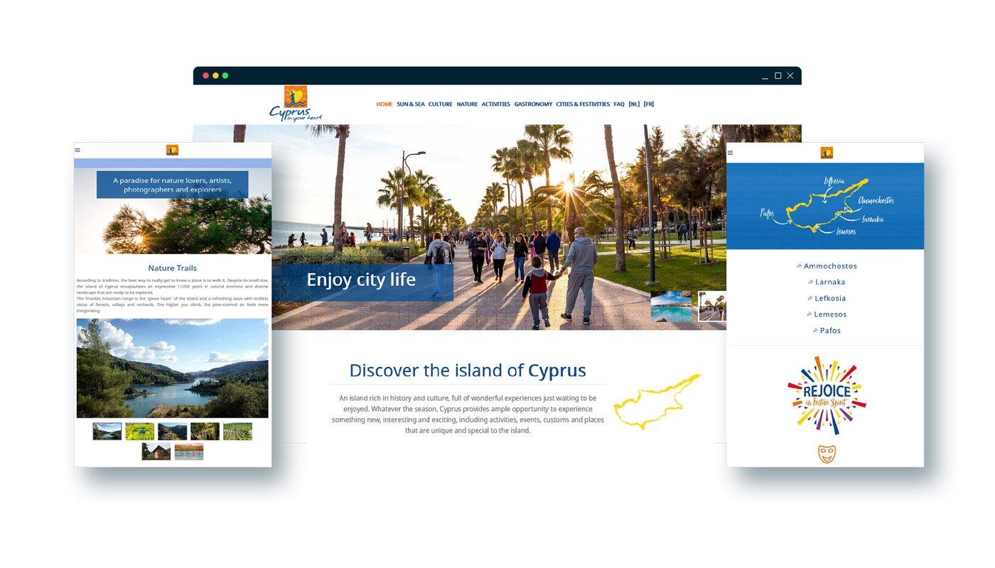 CYPRUS TOURISM ORGANIZATION Web Sites