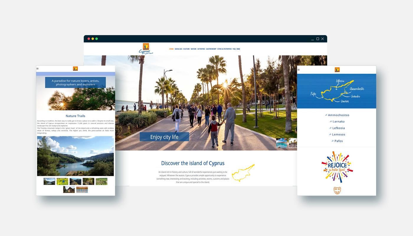 CYPRUS TOURISM ORGANIZATION on line campaign