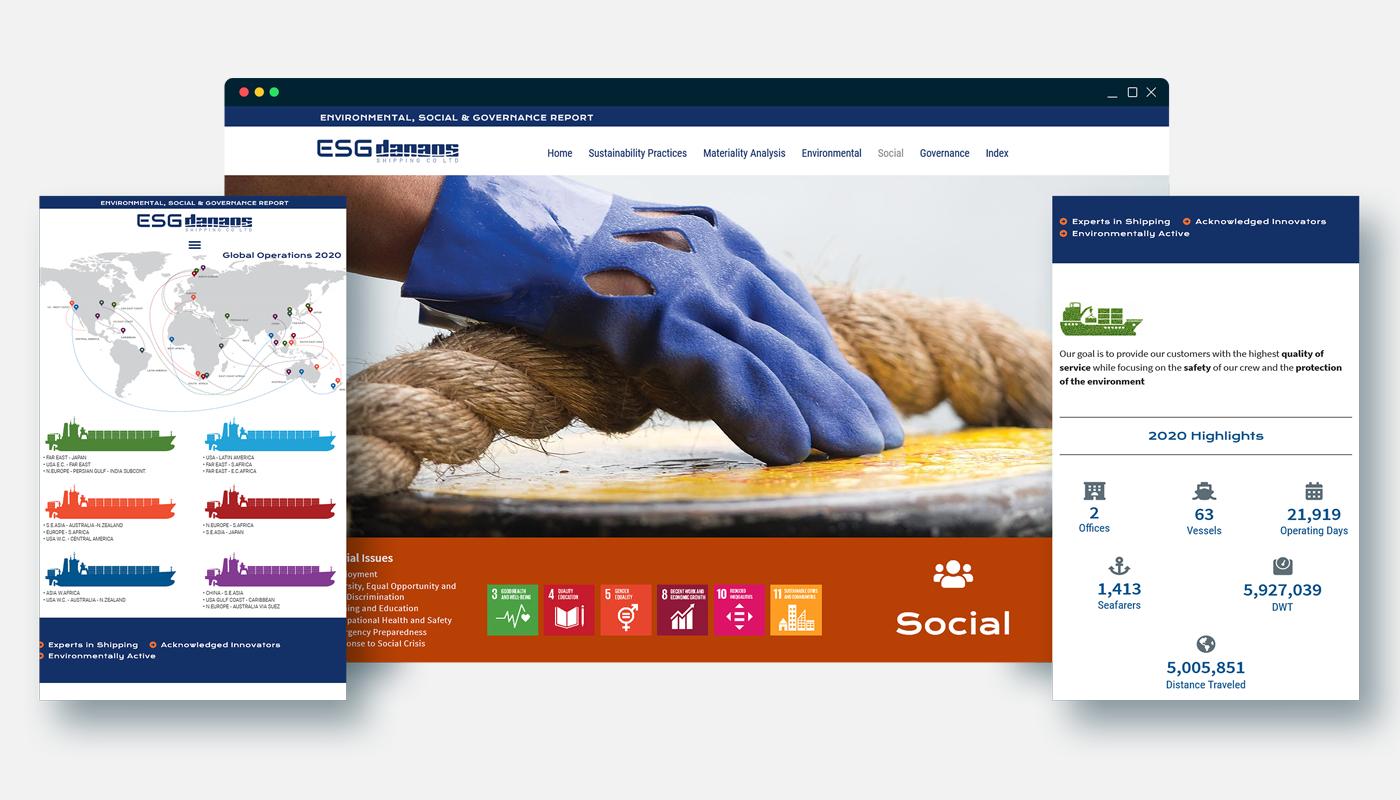 DANAOS ESG Website