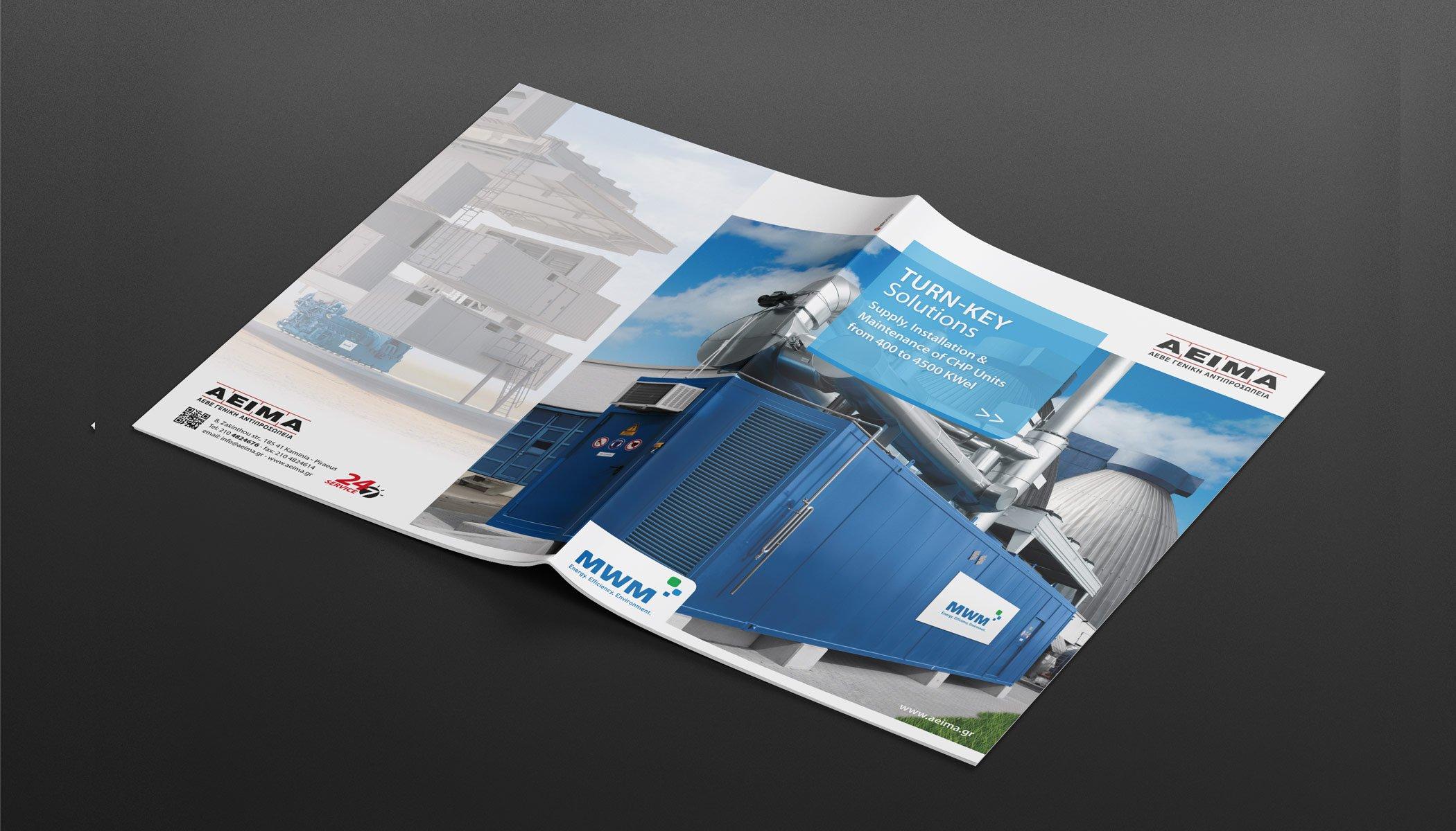 "AEIMA SA ""Gensets Turnkey Solutions"" Brochure"
