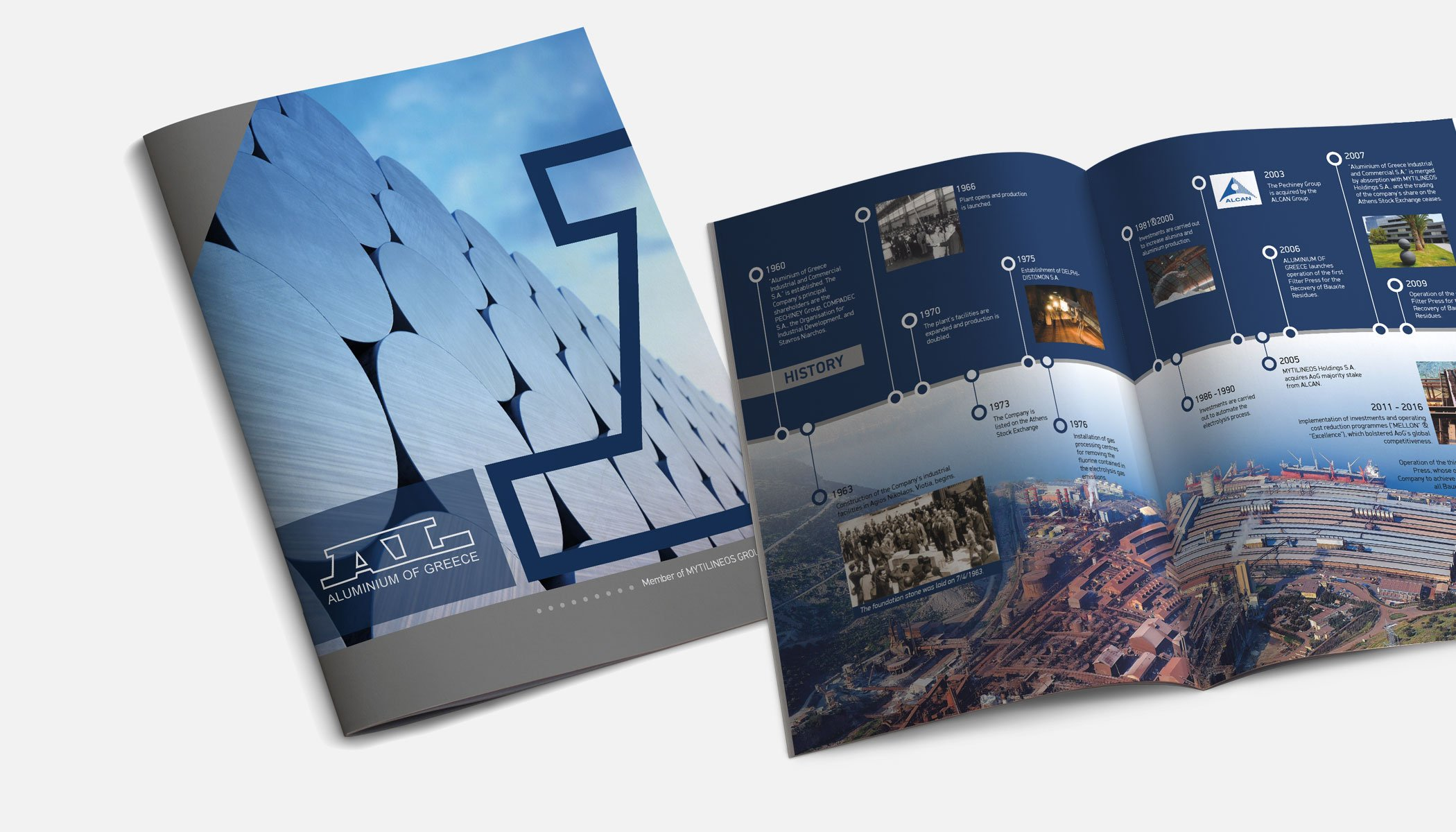 "ALUMINIUM OF GREECE ""Corporate Profile"" Brochure"