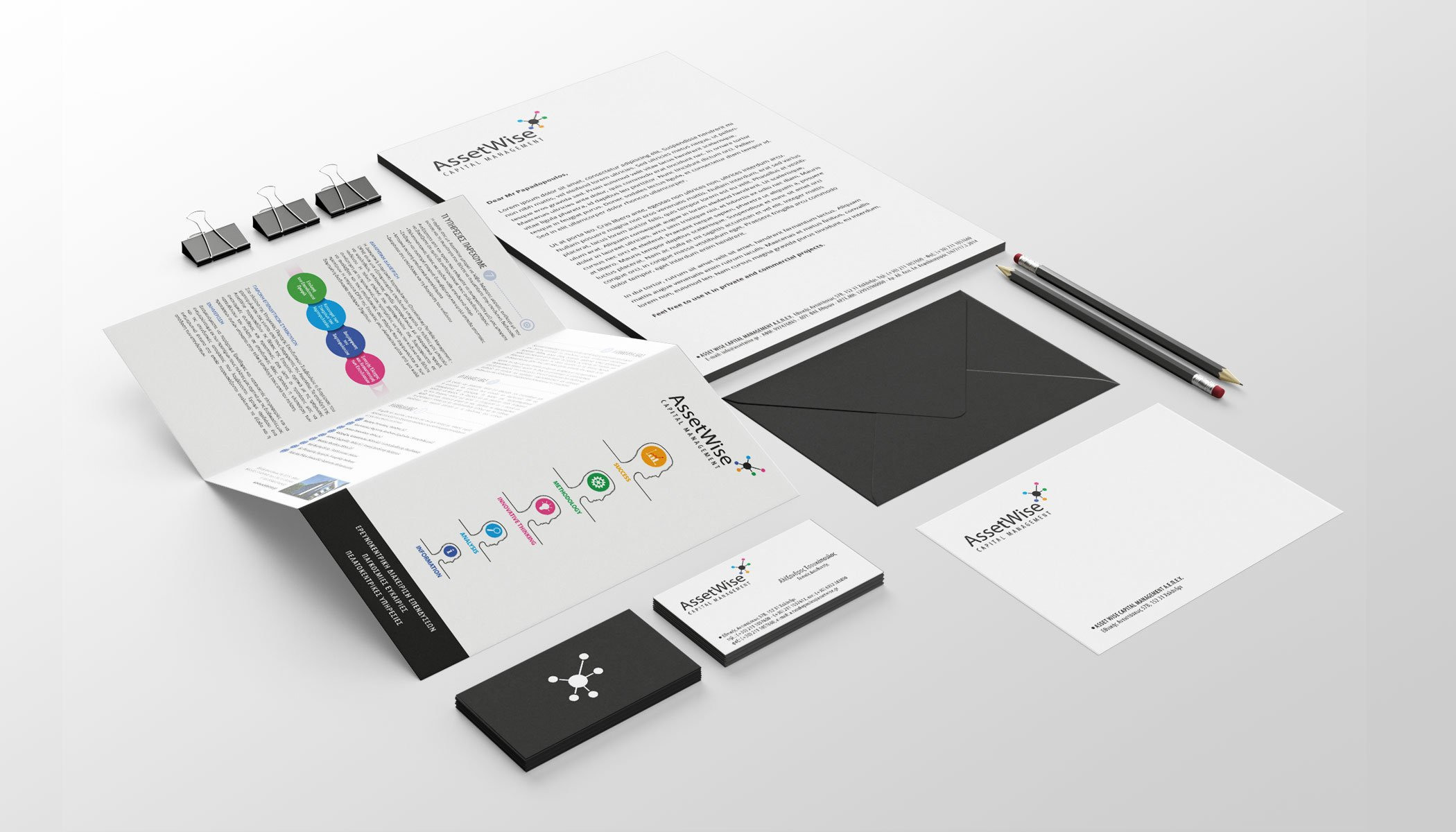 ASSETWISE Corporate id Design