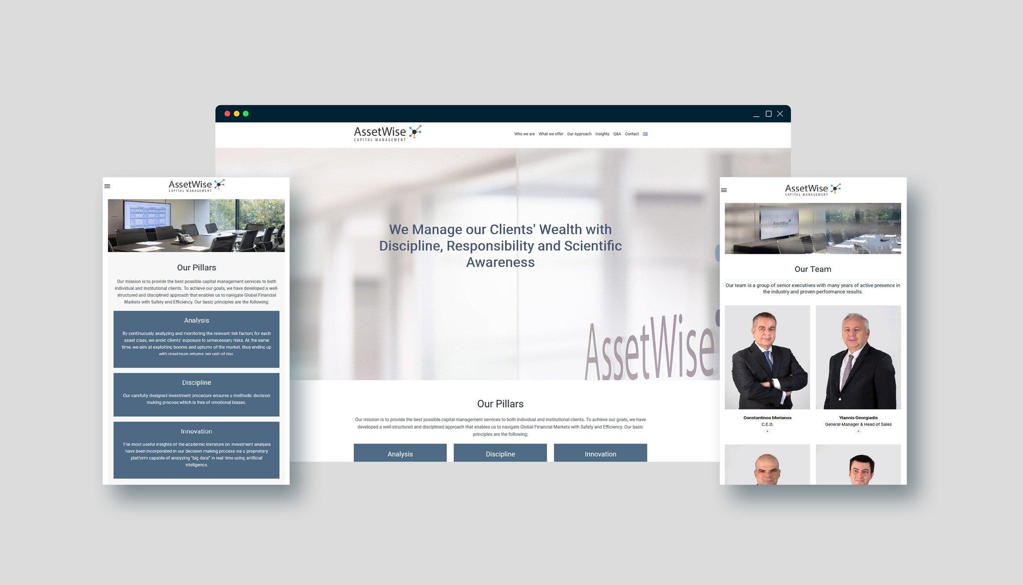 ASSETWISE Capital Management Website