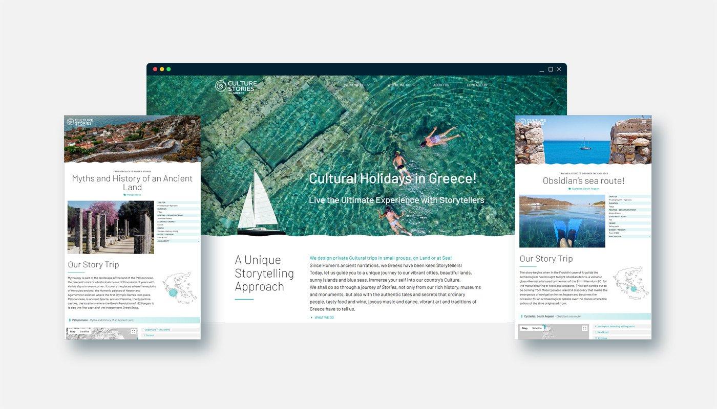 CULTURES STORIES Website