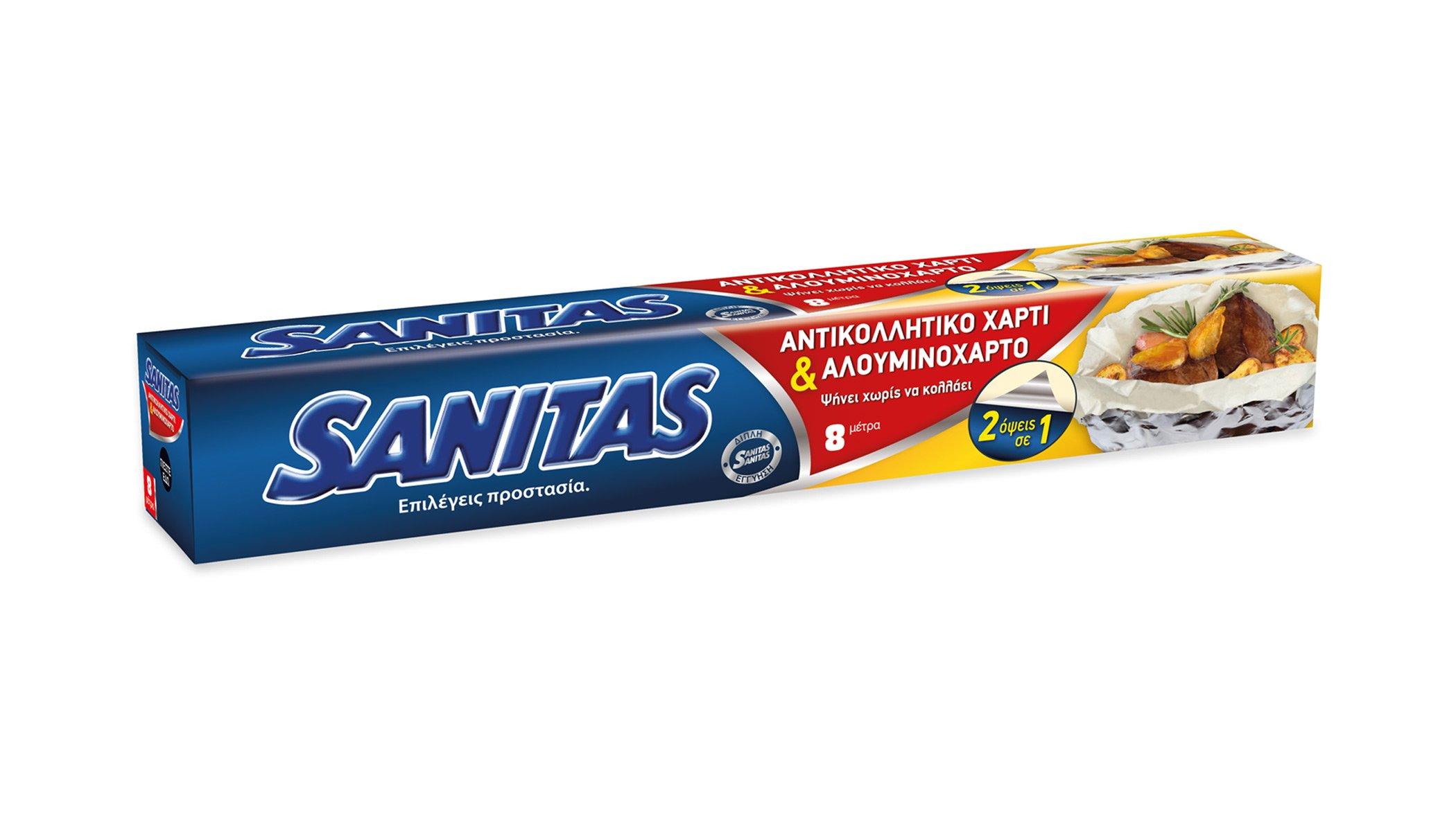SANITAS Foil + Baking Paper in1