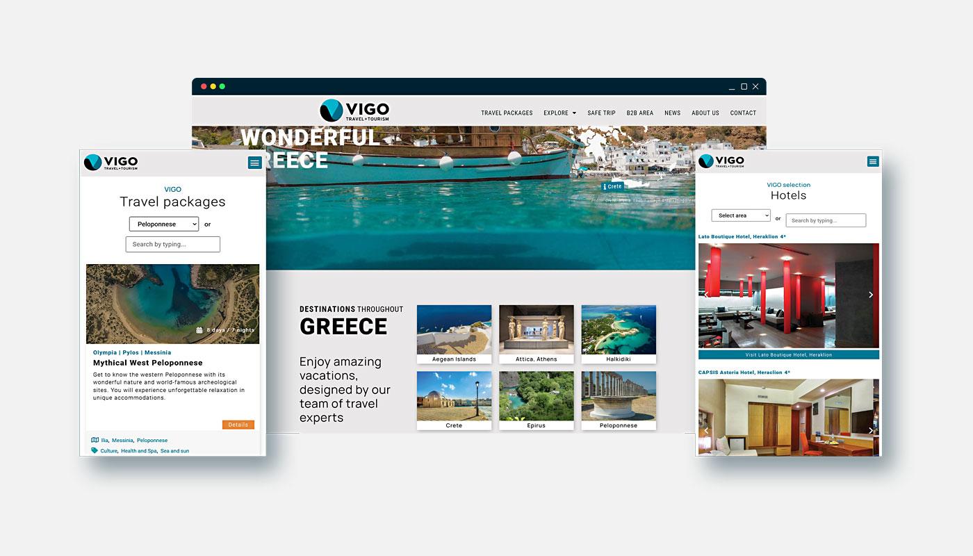 VIGO TRAVEL Website